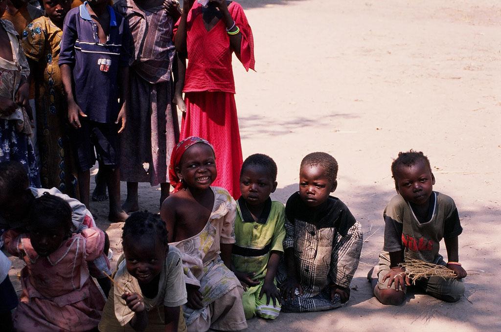 niños de Kyabé